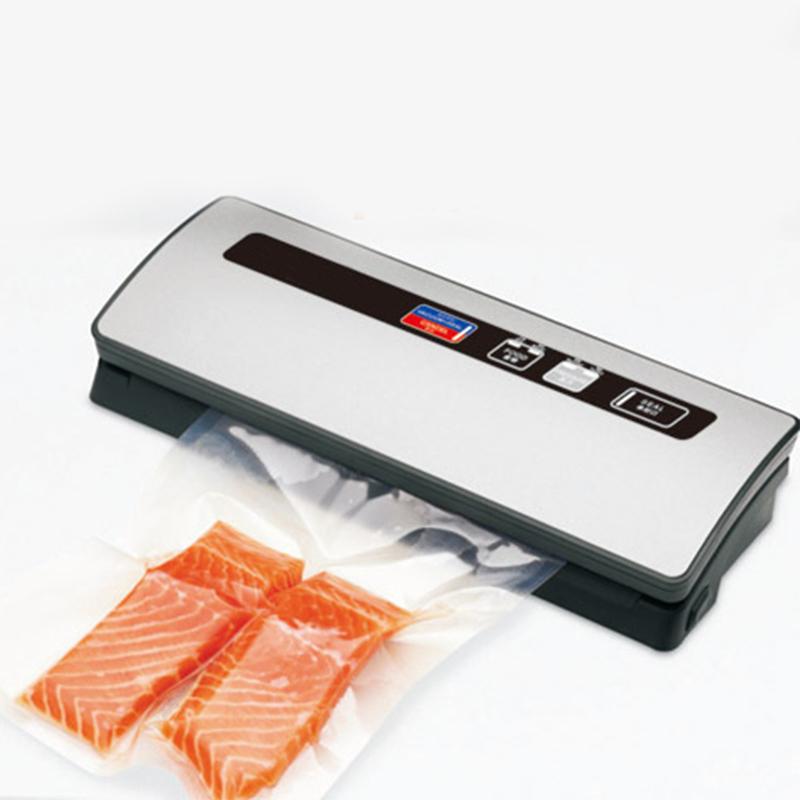 Free Shipping  Electric Vacuum Heat Sealing Machine Household Food Packing Saver Food Vacuum Sealer<br><br>Aliexpress