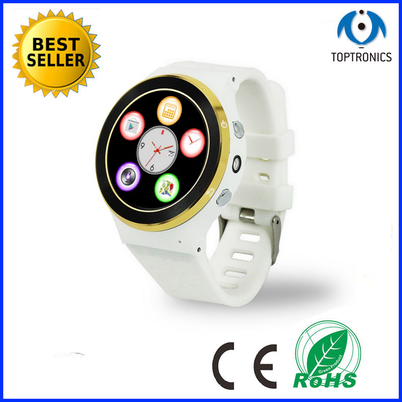 best selling smart phone watch with gps wifi 3g function supporting download app sim card camera for ios and andorid system(China (Mainland))