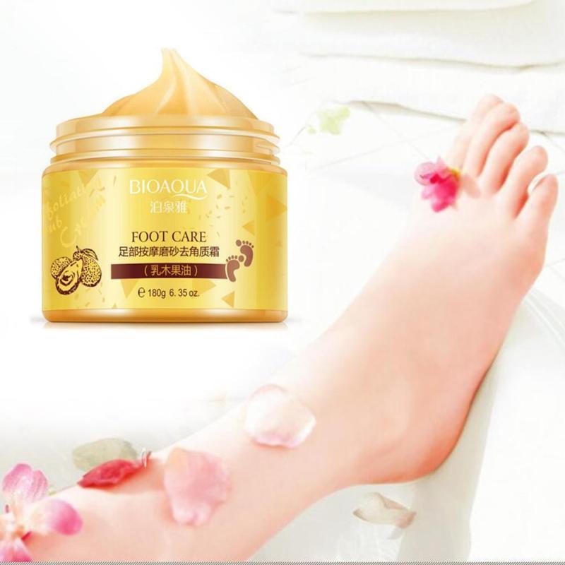 Foot moisturizing cream foot care Exfoliator cream Exfoliating Scrub foot Nursing massage health care A5