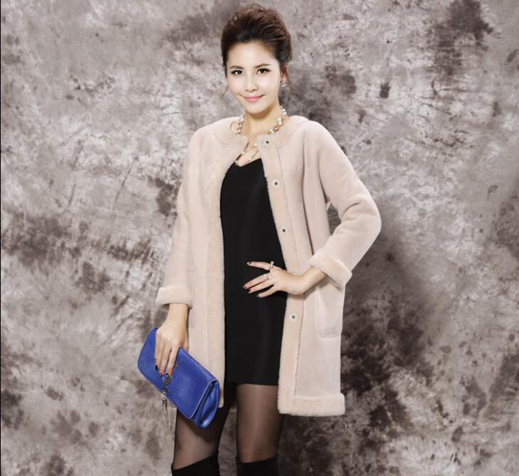 Здесь можно купить  2015 New  Real Fur Genuine Leather Korean style In the long section Fur coat Special offer yd86  Одежда и аксессуары