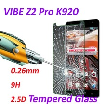 0 26mm 9H Tempered Glass screen protector phone cases 2 5D protective film For Lenovo VIBE
