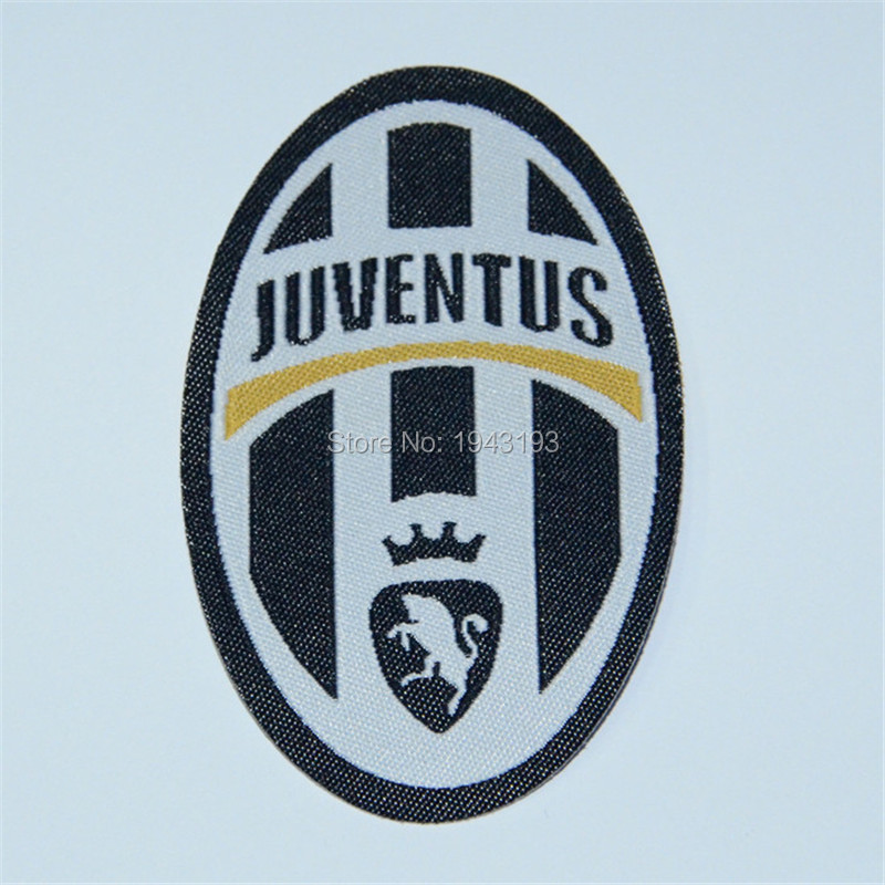 patch for juventus jersey badge Iron on for clothing soccer club embroidery football stickers for clothes logo Patches(China (Mainland))