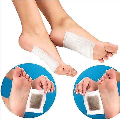10pcs Women Fashion Improve Premium Detox Foot Pads Organic Herbal Cleansing Patches With 10pcs Adhesive for free free shipping(China (Mainland))