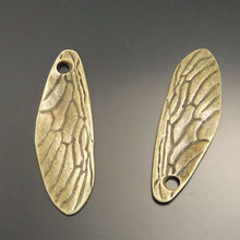 Buy AU02492 Antiqued Bronze Tone Vintage Alloy Jewelry Dragonfly Wing Charm Jewelry Finding Hot Sale 10PCS for $2.75 in AliExpress store