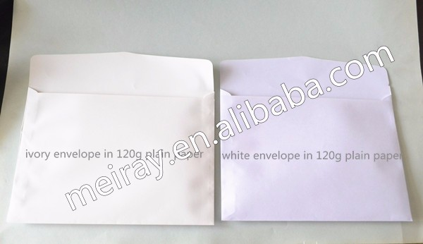 plain evelopes in 120g color paper