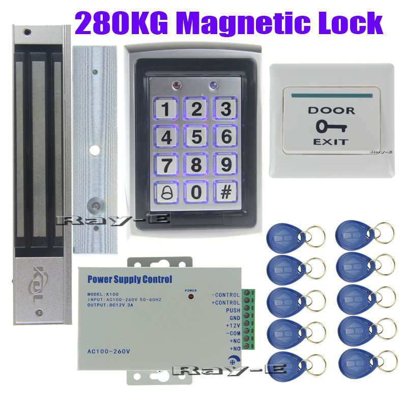 Home office security 280kg magnetic lock door access - How to access my office computer from home ...