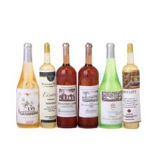 6Pcs Colorful Wine Bottles Dollhouse Miniature 1:12 Scale Classic Toys for Kids Scale Models(China (Mainland))