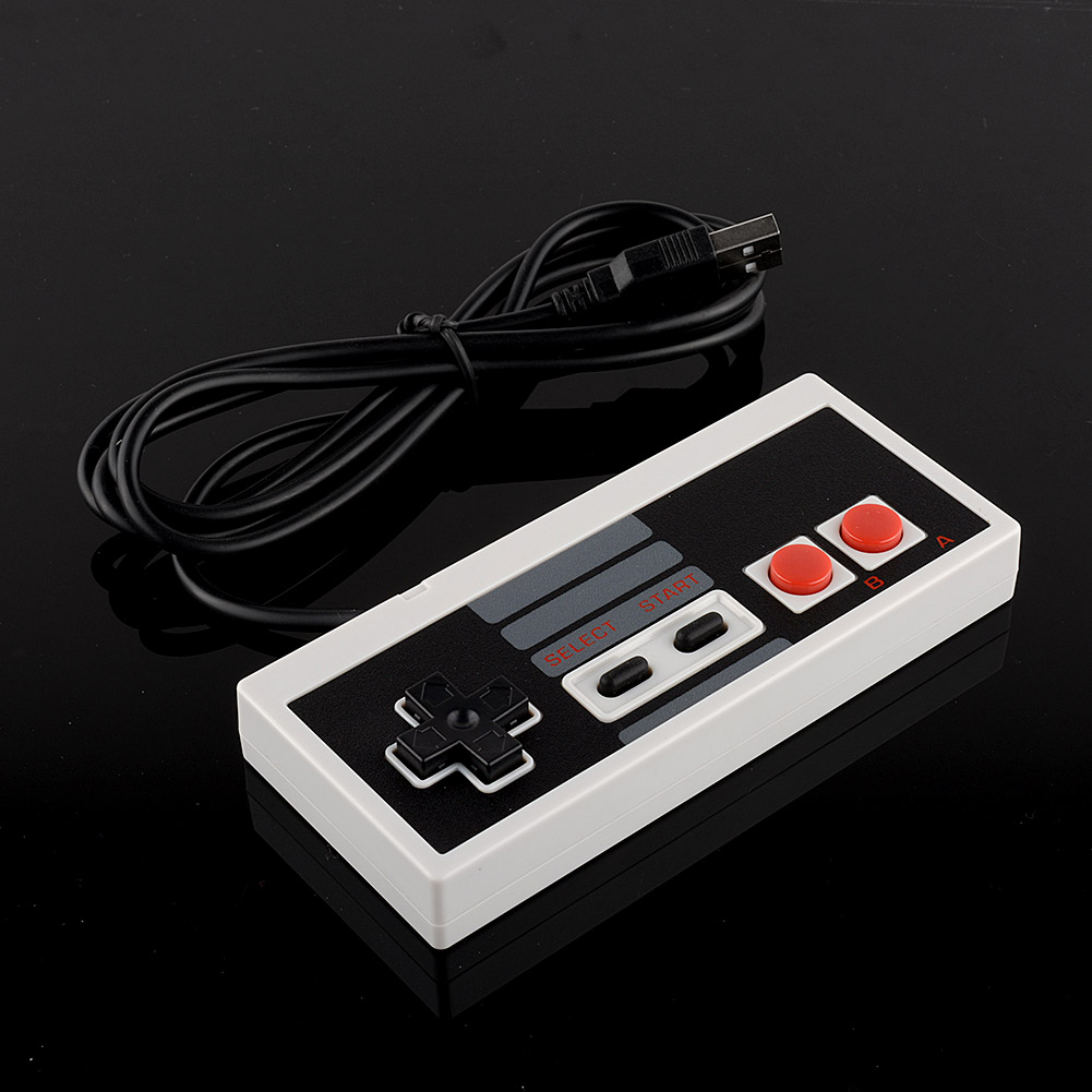 HOT USB Controller Gamepad Gaming Gamer JoyStick Joypad For NES Windows PC for MAC Computer Accessories Video Games(China (Mainland))