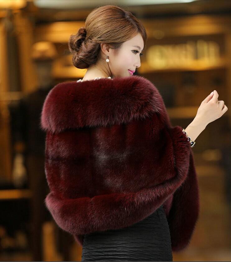 summer style Marten overcoat Women fox fur cape mink fur coat fur overcoat 2014(China (Mainland))