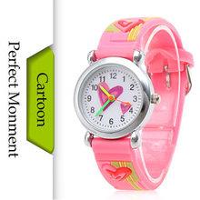 New 2016 Children Cartoon Watches Fashion Waterproof Silicone Child Watch Quartz Kids Wrist Wristwatches Boys Girl Quartz-watch