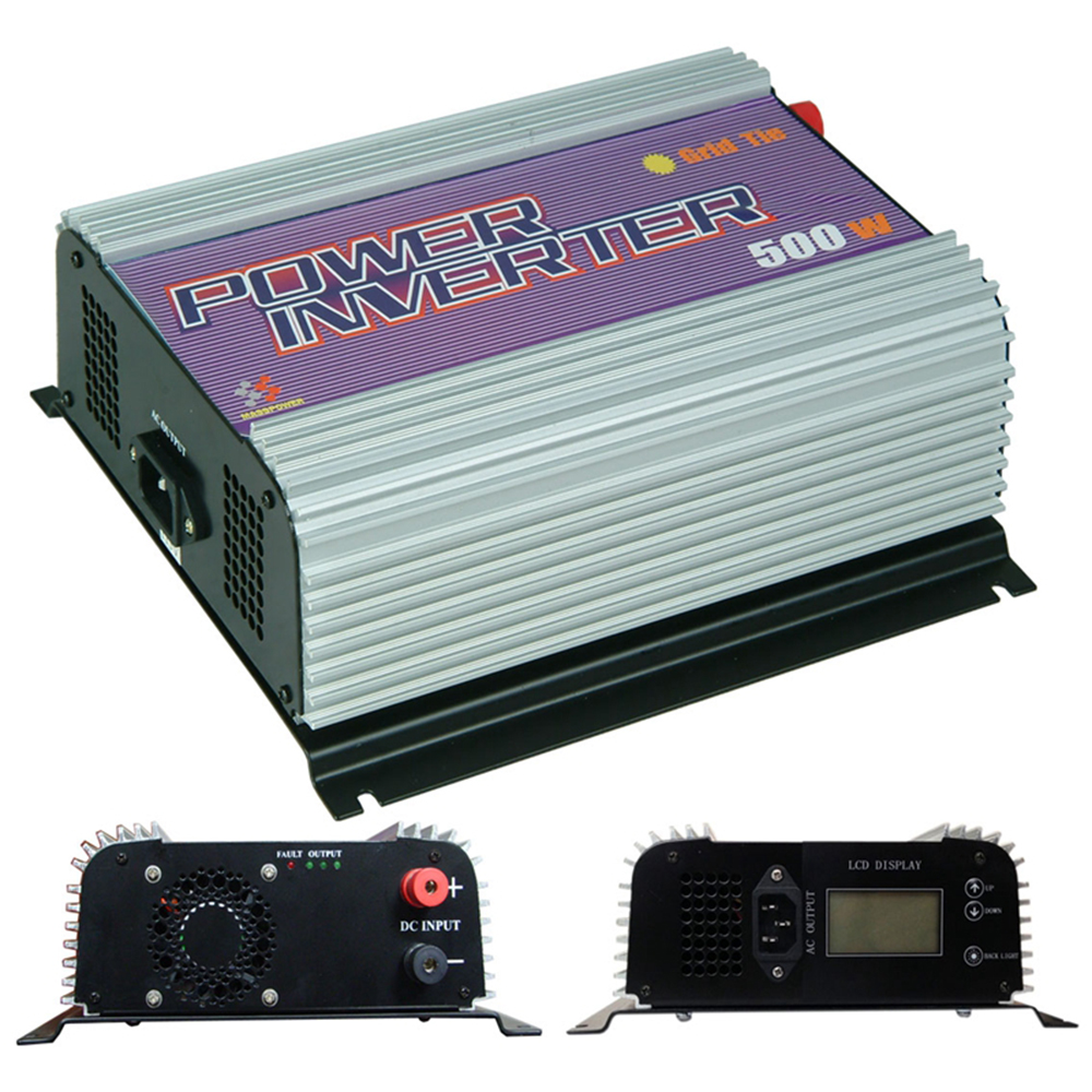 500W Grid Tie Inverter,Power Inverter,Solar Inverter LCD Display ,MPPT Function(China (Mainland))