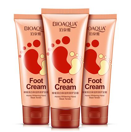 honey essence whitening moisturizing feet cream feet care foot care for pedicure foot cream pedicure socks foot spa 3 bottle(China (Mainland))