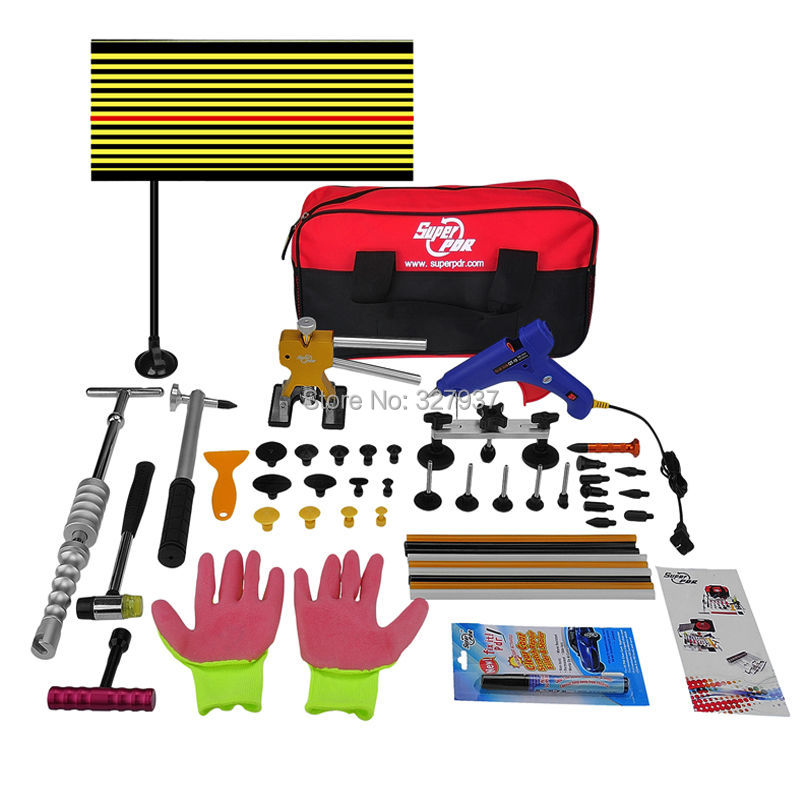 New technology making 42pcs set body repair tool paintless dent repair tools pdr kit(China (Mainland))