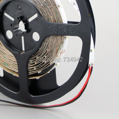 High CRI &gt; 90 DC 12V Dimmable SMD3528-150 Flexible LED Strips 30 LEDs Per Meter 8mm Width 150lm Per Meter<br><br>Aliexpress