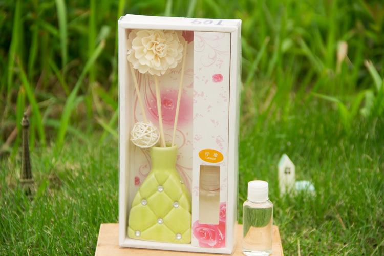Smoke-free Aroma Oil Perfume Scent Diffuser Deodorant incense cone(China (Mainland))