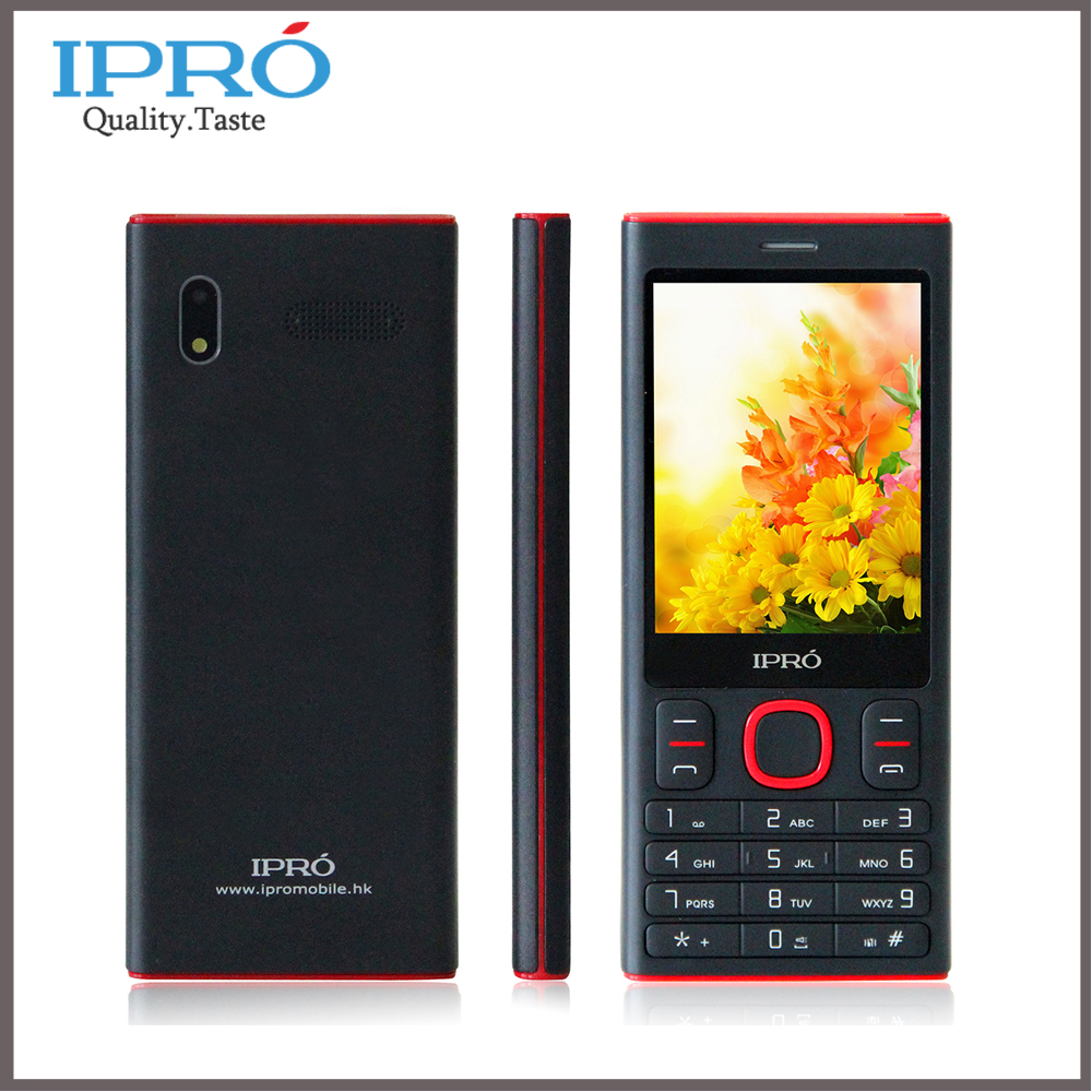 2015 Original Ipro I3280 2.8 Inch Mobile Phone GSM Dual SIM Unlocked Cell Phone with Earphone English/Spanish/Portuguese(China (Mainland))