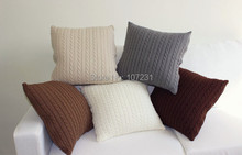 Cotton Nordico Knitted Cushion Cover Pillow Case