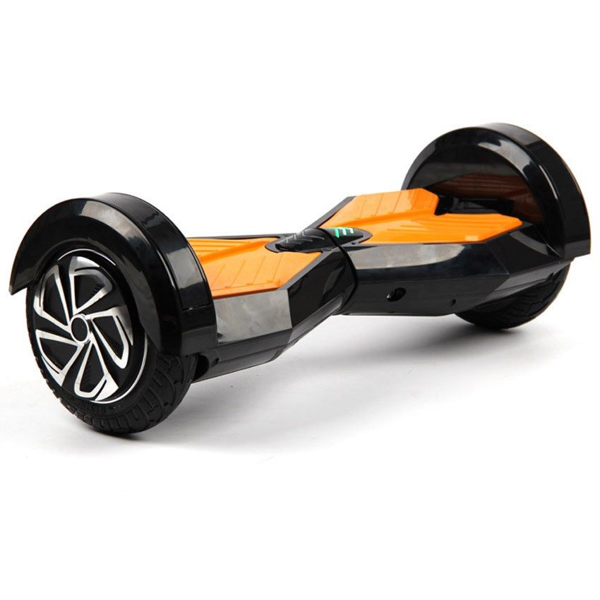 2 wheel self smart balance scooter 8 inch with led light bluetooth remote bag electric. Black Bedroom Furniture Sets. Home Design Ideas