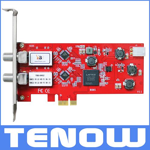 TBS6902 DVB-S2 Dual Tuner PCIe Card(China (Mainland))