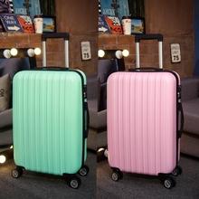 Barra de tracción rueda universal de caja de bolsas de viaje pequeña maleta cajas de contraseña 20 / 22 / 24 / 26 / 28 pulgadas(China (Mainland))