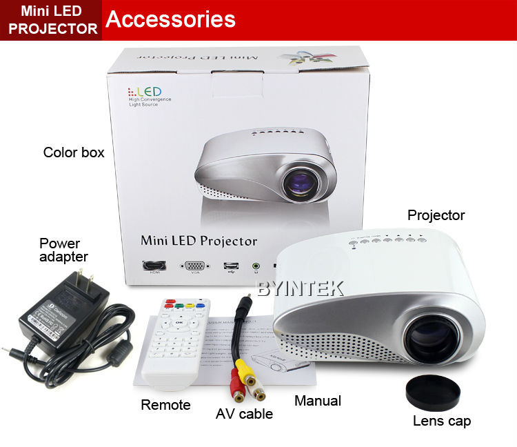 Lumen projector hdmi portable digital projector for Lumen pocket projector