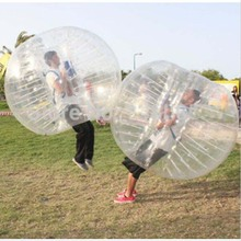 KINGTOY 1.8m PVC Outdoor Inflatable hamster ball toys Adults bumper bubble zorb soccer ball football (China (Mainland))