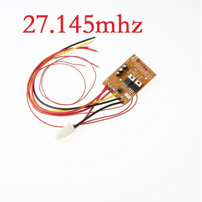 Double horse 7000 7004 7008 receiver circuit board pcb 27.145mhz 27mhz rc spare part s rc accessories for rc boat(China (Mainland))