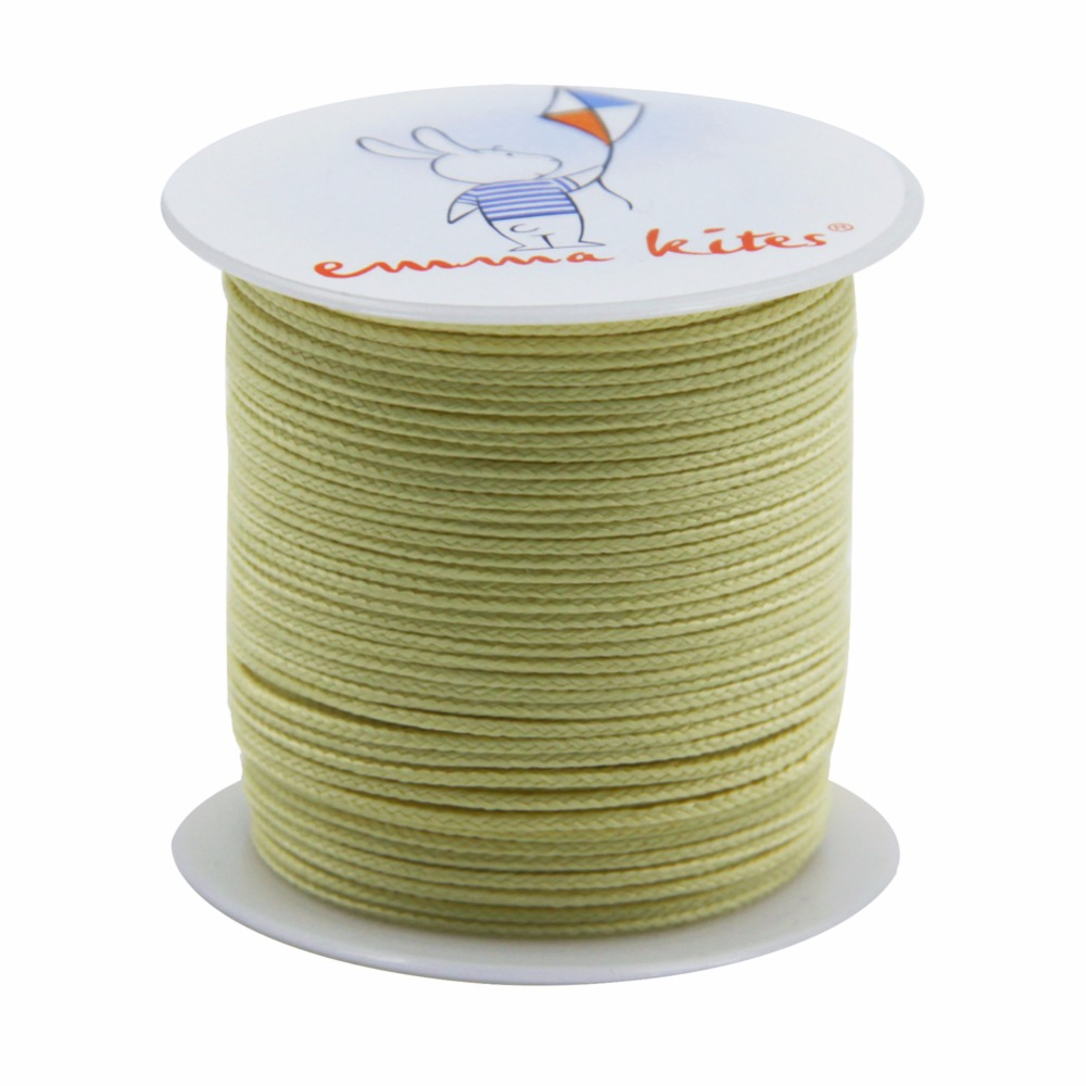 Strong 100ft/30M of 250lb Braided Kevlar Fishing Line Stunt Power Kite Fly Line Kite Winder String Free Shipping(China (Mainland))