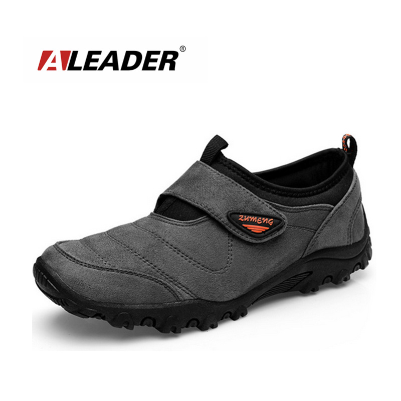 Sport Mens Hiking Shoes Autumn/Winter Athletic Outdoor Man Slip Sapato Masculino Zapatos Hombre Senderismo - Aleader Brand Flagship Store store