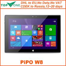PiPo W8 10.1'' Retina Screen External 3G Windows 8.1 OS Tablet PC Inter Core M Dual Core 4M Cache RAM 4GB+ROM 64GB WiFi HDMI OTG(China (Mainland))