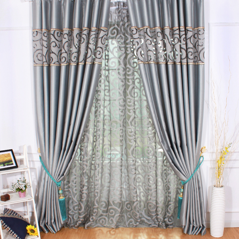 Purple Curtains For Bedroom Living Room Curtain For Living Room Bedroom Hoom Decor Textile In Curtains From