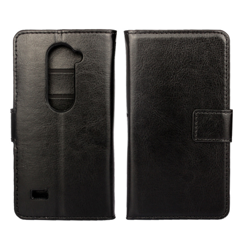 For LG Leon 2015 New arrival! Luxury Pull-up Leather Case Cover Flip Wallet bag case for LG leon + Card Slot Free shipping(China (Mainland))