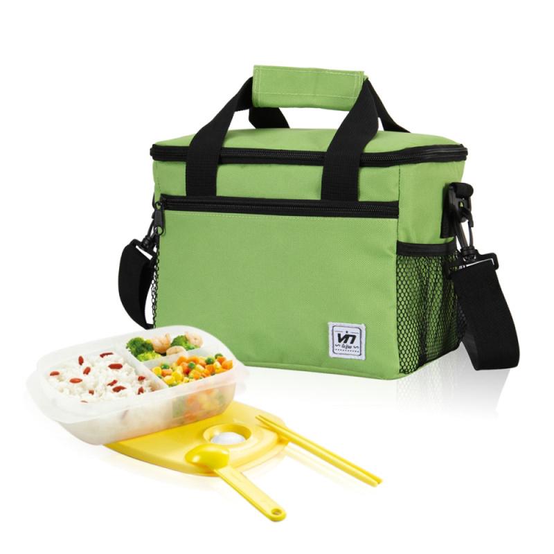 Гаджет  Square Thermal Bag Women / Men Lunch Bag Cooler Beam Port Lunch Box Lady Handbag Children / Kids Lunch Bags / Insulation Package None Камера и Сумки