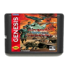 Buy Advanced Military Commander 16 bit MD Game Card Sega 16bit Game Player for $3.79 in AliExpress store