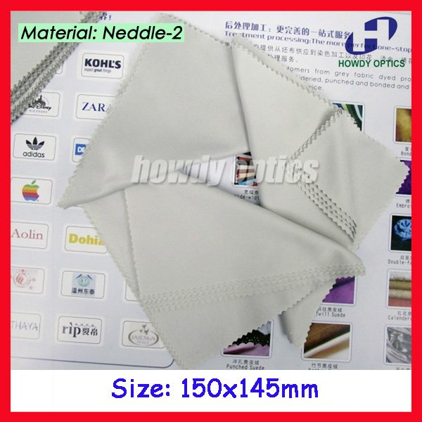 (HM-7) 175gsm Grey color microfiber cleaning cloth,15x14.5cm,glasses cleaning cloth,Free Shipping(China (Mainland))