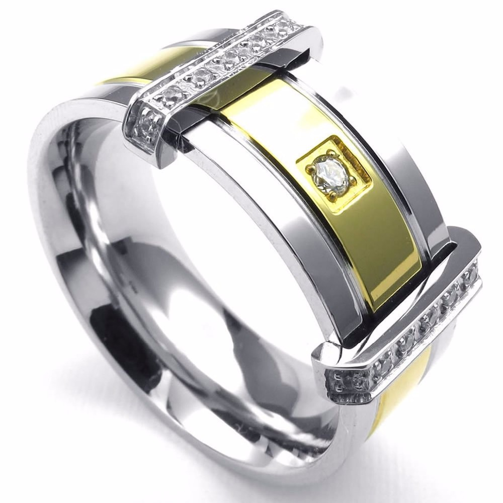 Popular mens signet rings buy cheap mens signet rings lots for Biker jewelry stainless steel