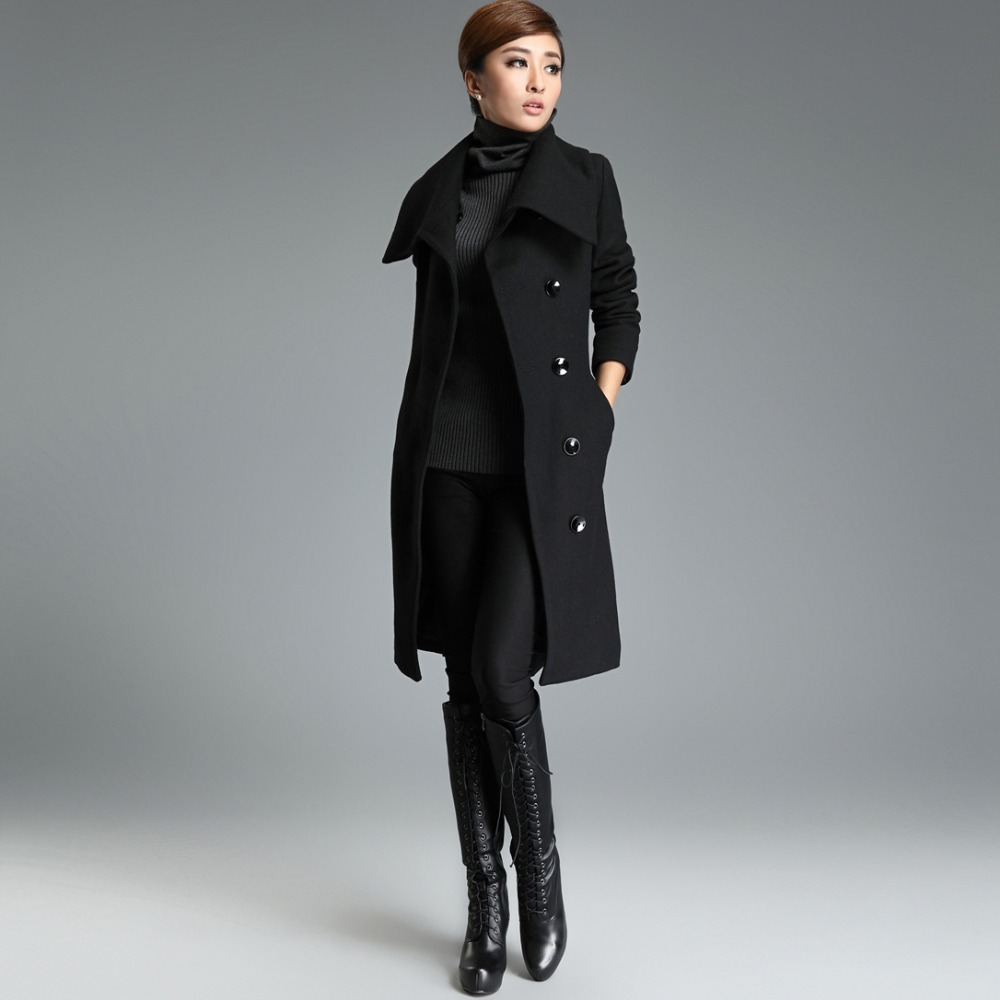 long black winter coats for women jacketin