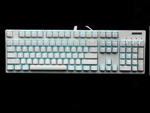 DHL/EMS GANSS GS104 Blue Backlit PBT Double Shot Keycaps NK Rollover Cherry MX Switches Mechanical Gaming Keyboard