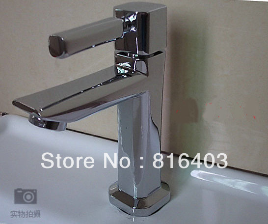 Free shipping Kitchen Faucet basin Mixer tap Deck Mounted brass chrome plating