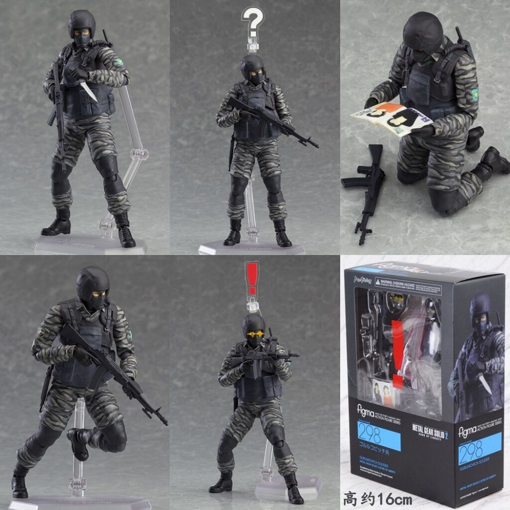 NEW! Metal Gear Solid Uniform Military Army Combat Game Toys Soldier Set with Retail Box Action Figure hot Model toys gift(China (Mainland))