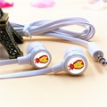 Anime Super Hero Iron Man Cartoon In ear Earphone 3 5mm Stereo Earbuds Phone Game Headset