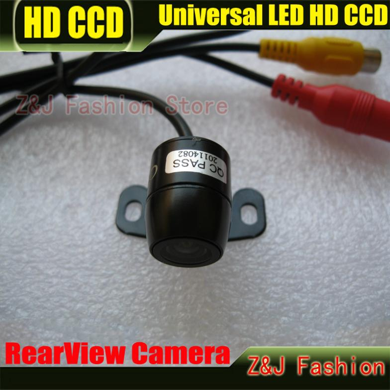 Factory Selling Super Mini CCD HD Car Camera Rear View parking back Camera reversing Camera HD CCD waterproof free shipping(China (Mainland))