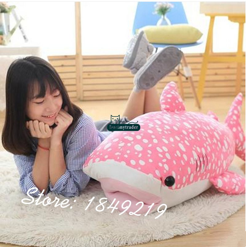 Dorimytrader 39'' / 100cm Giant Stuffed Soft Animal Whale Toy Plush Large Bluewhale Doll Nice Baby Gift Free Shipping DY61180(China (Mainland))