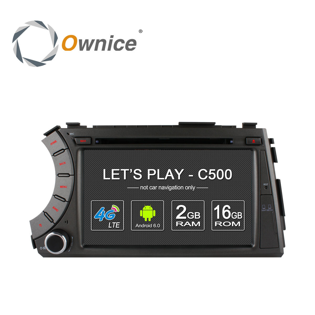 Ownice C500 4G SIM LTE 1024*600 Android 6.0 Quad Core car dvd gps player for ssangyong Kyron Actyon 4G Wifi BT radio 2GB RAM(China (Mainland))