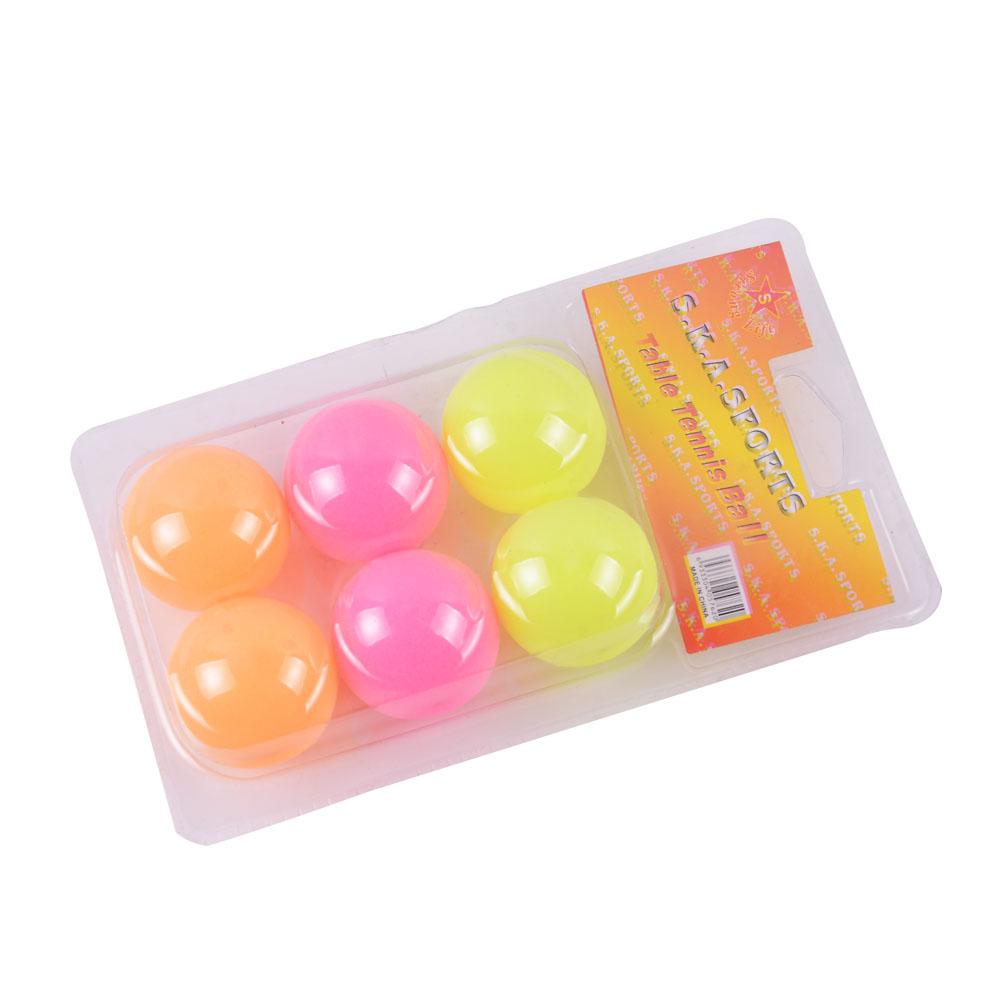 1 Star Color Ping Pong / A-Class Quality 6 a box & China Contact table tennis Ball Champion --- Ping-pong(China (Mainland))