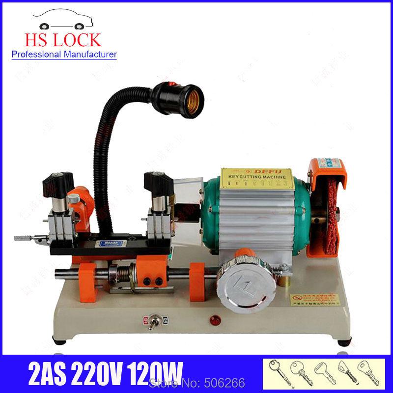 original defu key cutting machine 220v 100w single head key duplication machine made in China fast ship<br><br>Aliexpress