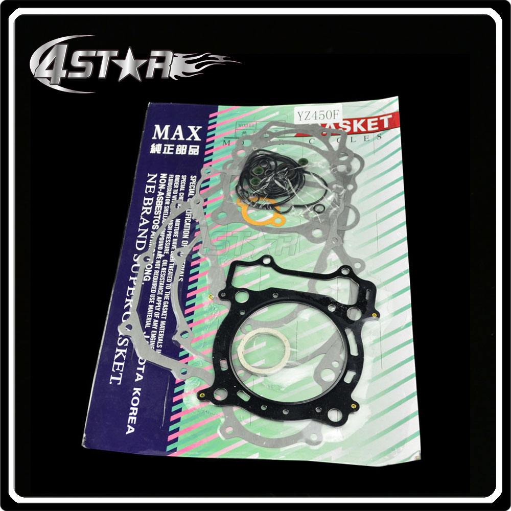 Engine Complete Gasket Set For YZ450F Motorcycle Racing Street Bike(China (Mainland))