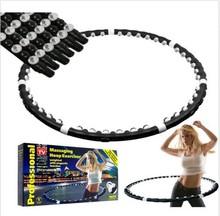 Обруч спортивные игрушки сбросить лишний вес женщин магнитного фитнес упражнение массажер обруч 1300K33R10Y