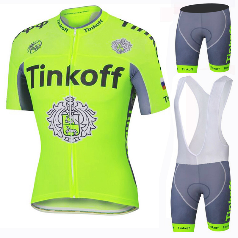 2016 Saxo Bank Tinkoff Breathable Cycling Jersey/ Racing Bike Cycling Clothing /Mans Cycle Clothes Wear Ropa Ciclismo Sportswear(China (Mainland))