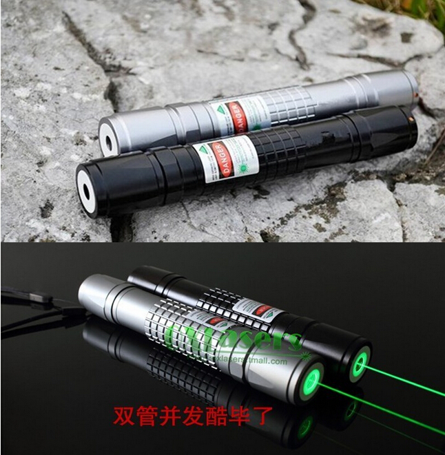 free shipping 532 nm 50000mW 5w waterproof focusable green laser pointer flashlight light cigars High quality(China (Mainland))